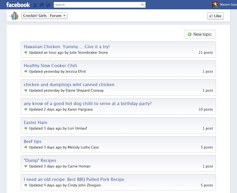 Facebook | Forum Software Reviews