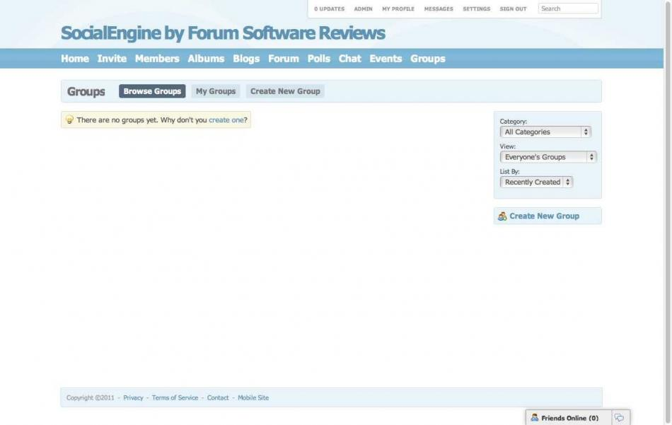 SocialEngine - Group Browse